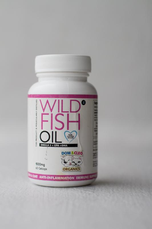 Dom & Cleo Wild Fish Oil   Vanillapup