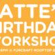 Latte's Birthday Workshop Banner | Vanillapup