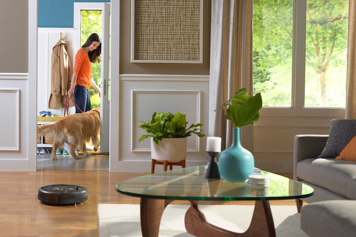 iRobot pets robotic vacuum cleaner