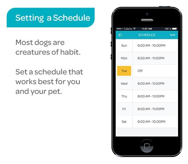CleverPet App Schedule