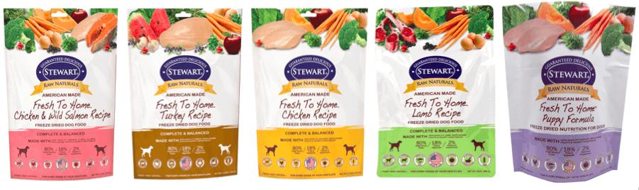 Stewart Raw Naturals Recipes | Vanillapup