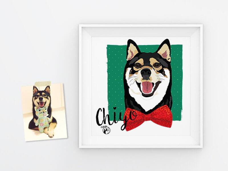 AstonishMe Pet Illustration