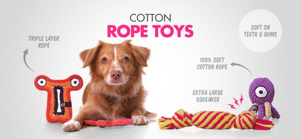 Alien Flex Cotton Rope Toys
