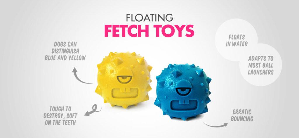 Alien Flex Floating Fetch Toys