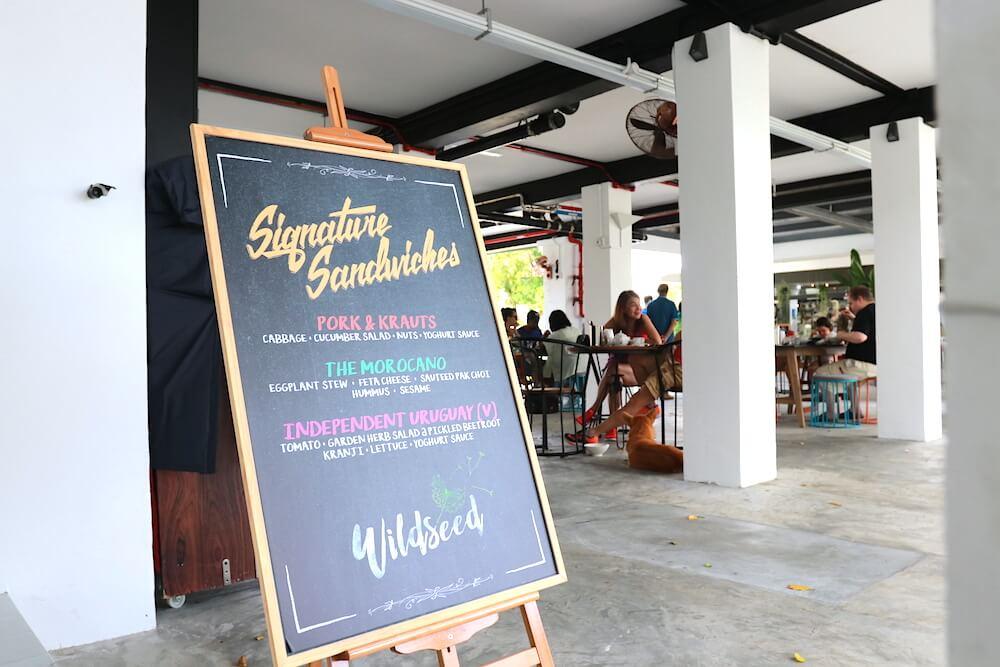 Dog-friendly Wildseed Cafe   Vanillapup