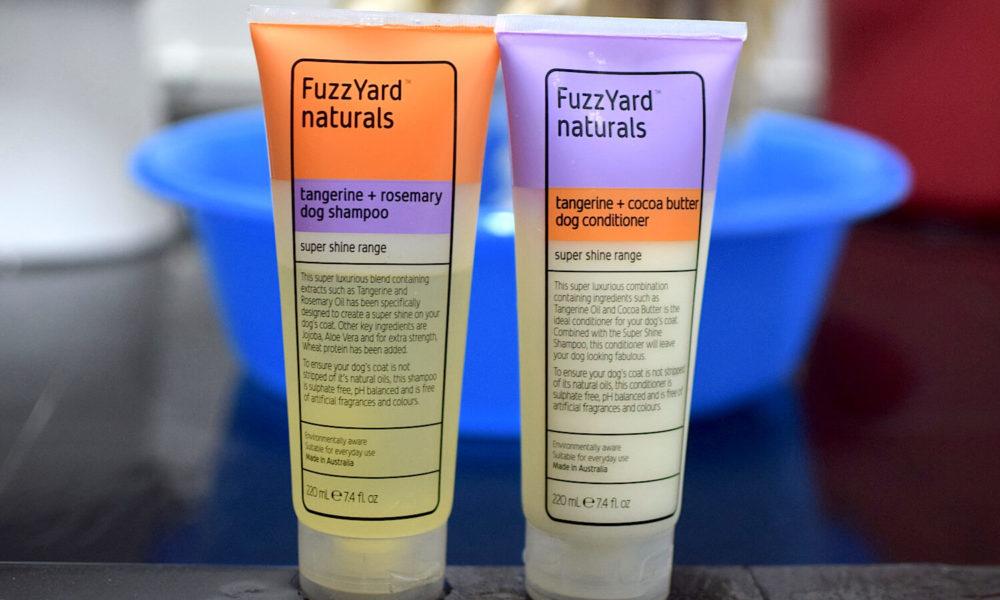 FuzzYard Shampoo and Conditioner   Vanillapup